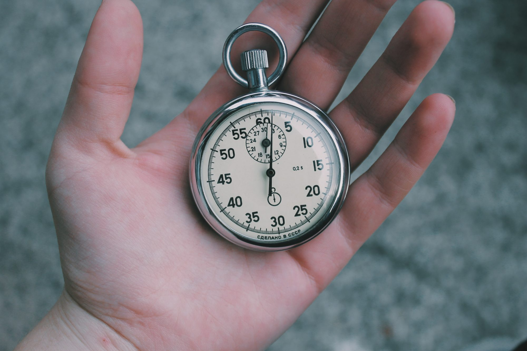 Who is in control of your time?